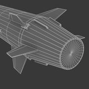 Missile ipersonico 3d model
