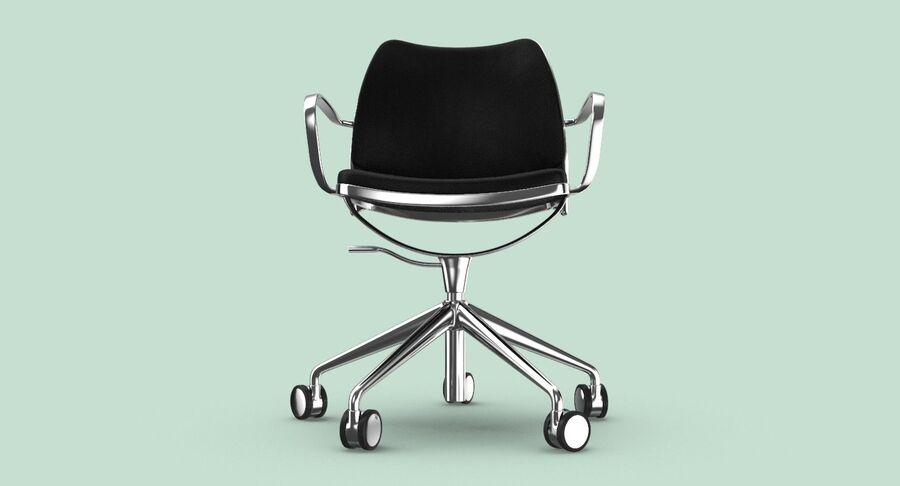 现代办公椅 royalty-free 3d model - Preview no. 8