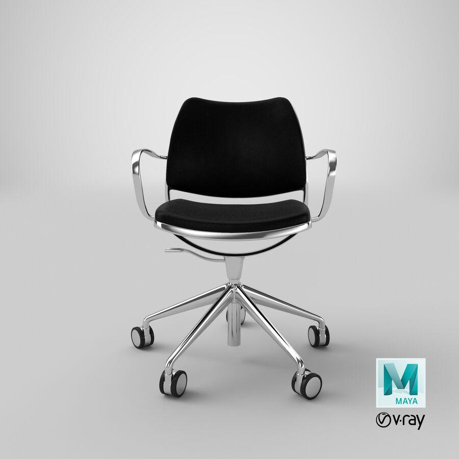 现代办公椅 royalty-free 3d model - Preview no. 20