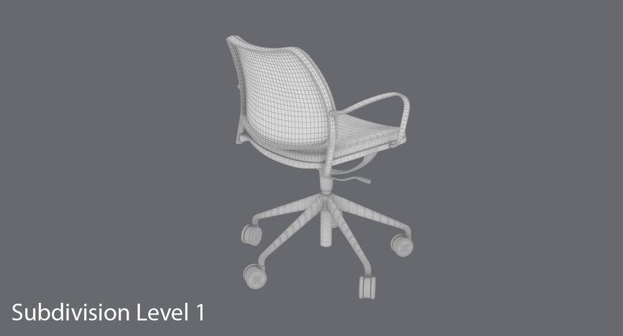现代办公椅 royalty-free 3d model - Preview no. 18