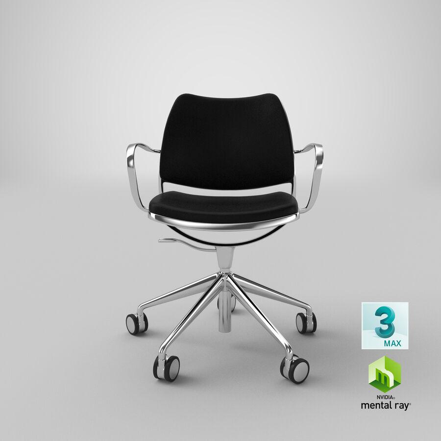现代办公椅 royalty-free 3d model - Preview no. 23
