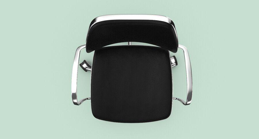 现代办公椅 royalty-free 3d model - Preview no. 5