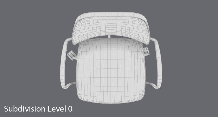 现代办公椅 royalty-free 3d model - Preview no. 14