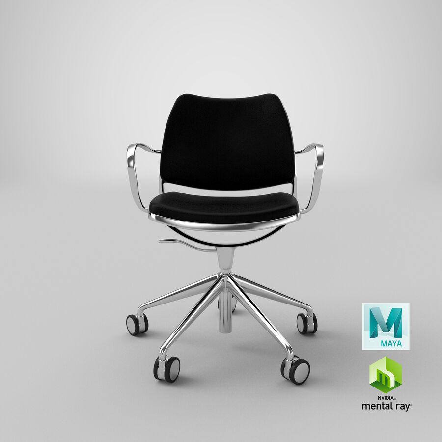 现代办公椅 royalty-free 3d model - Preview no. 21
