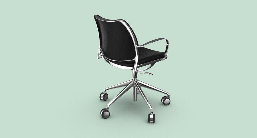 现代办公椅 royalty-free 3d model - Preview no. 6