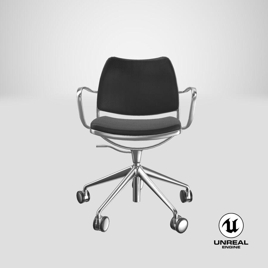 现代办公椅 royalty-free 3d model - Preview no. 25