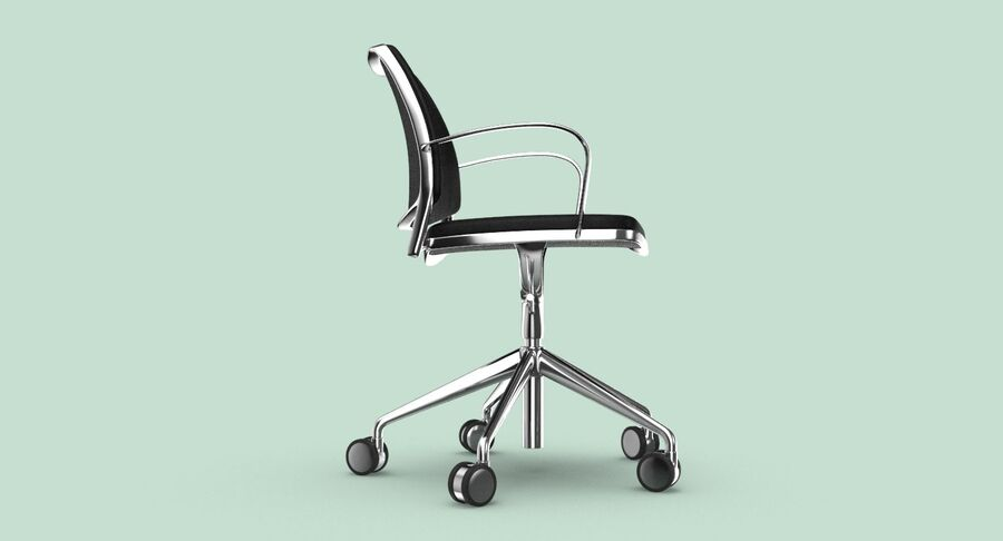 现代办公椅 royalty-free 3d model - Preview no. 7