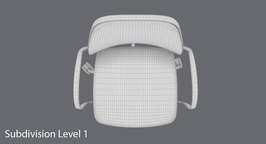 现代办公椅 royalty-free 3d model - Preview no. 17