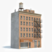 Apartment Building 46 3d model