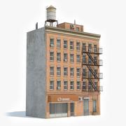 아파트 건물 46 3d model