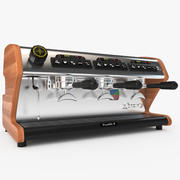 LaSpaziale Vivaldi II Coffee Maker 3 Portafilter 3d model