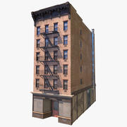 Edificio di New York 3d model