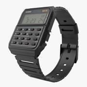 Casio Data Bank Calculator Watch 3d model