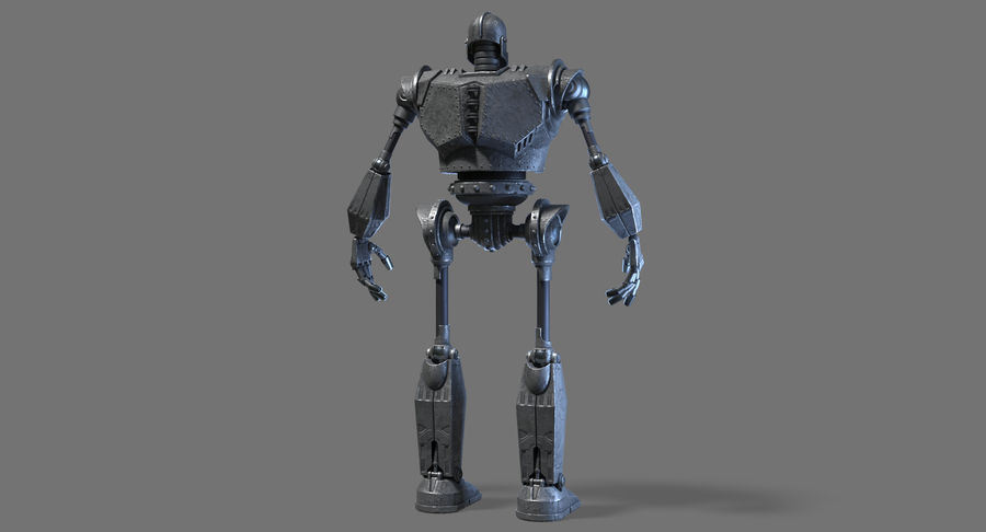 The Iron Giant. royalty-free 3d model - Preview no. 13