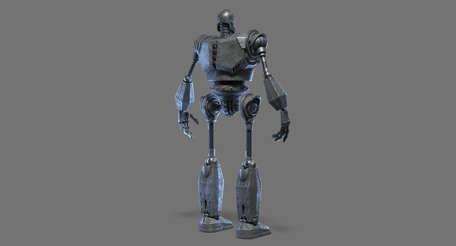 The Iron Giant. royalty-free 3d model - Preview no. 11