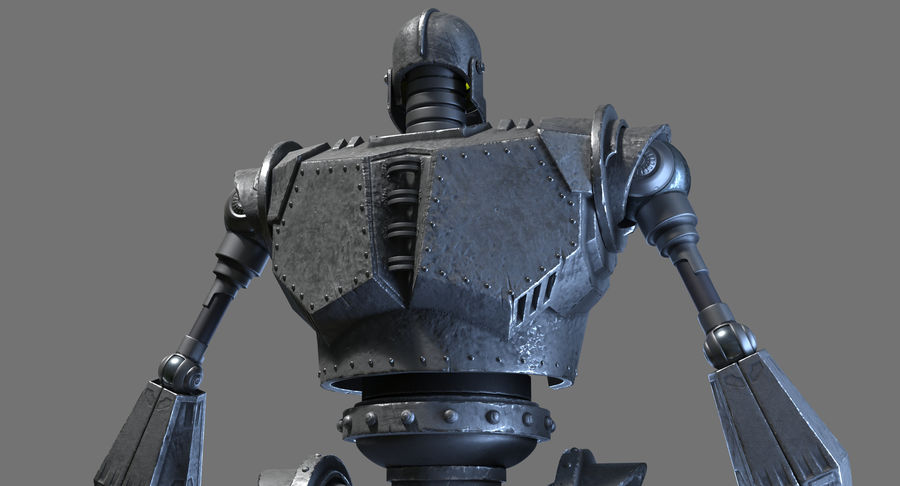The Iron Giant. royalty-free 3d model - Preview no. 14