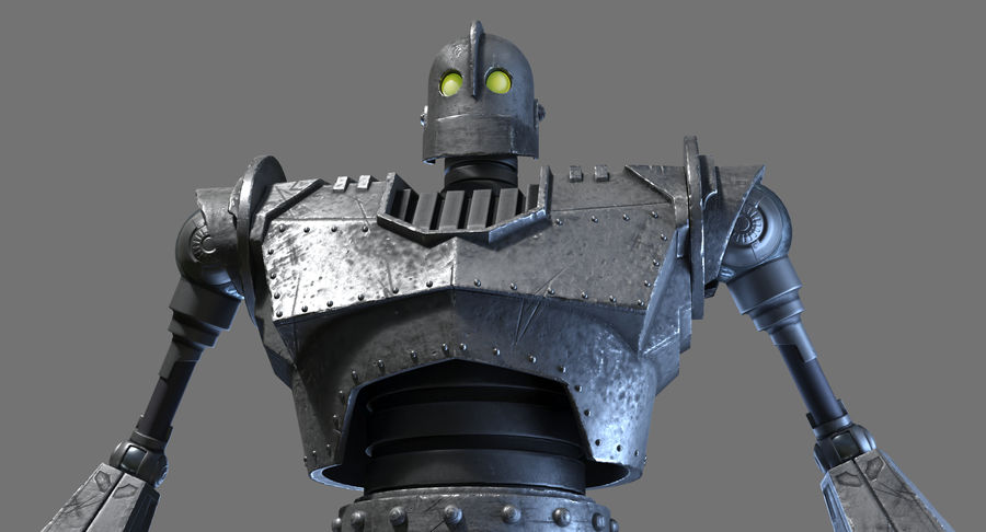 The Iron Giant. royalty-free 3d model - Preview no. 5