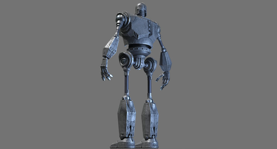 The Iron Giant. royalty-free 3d model - Preview no. 16