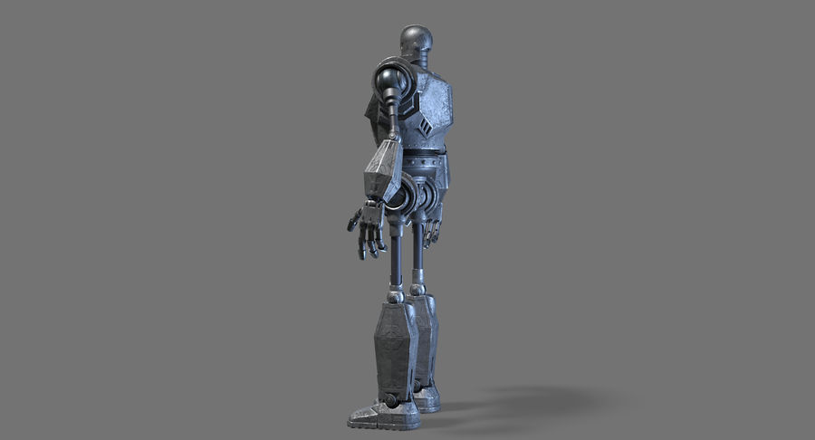 The Iron Giant. royalty-free 3d model - Preview no. 17
