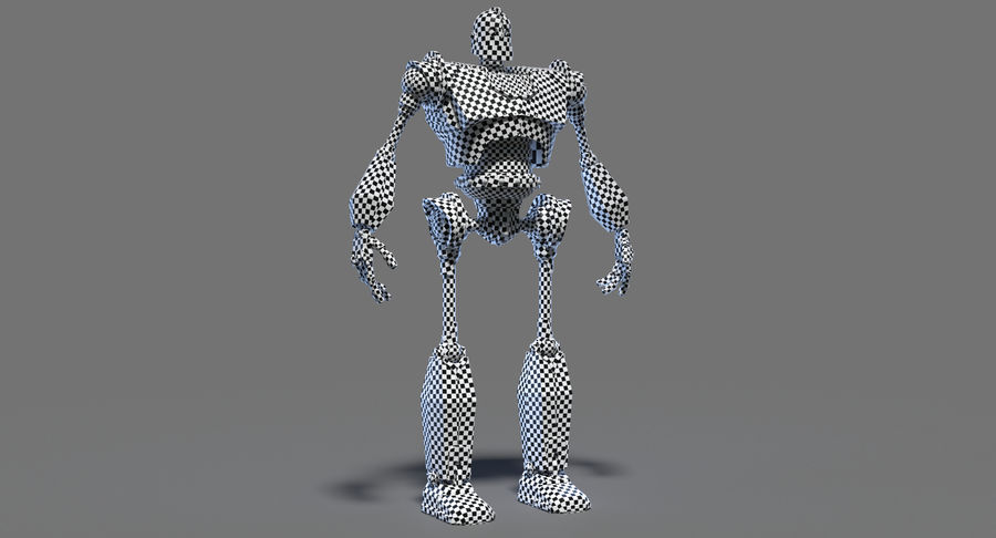 The Iron Giant. royalty-free 3d model - Preview no. 21