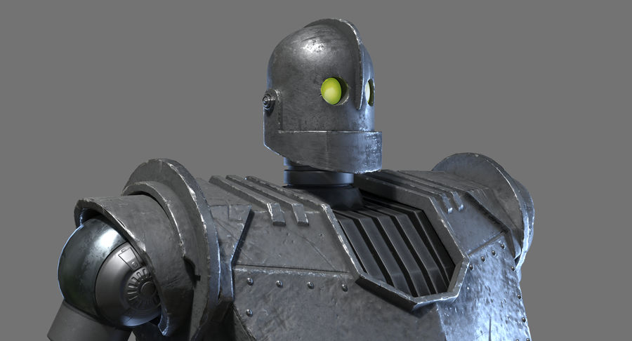 The Iron Giant. royalty-free 3d model - Preview no. 7