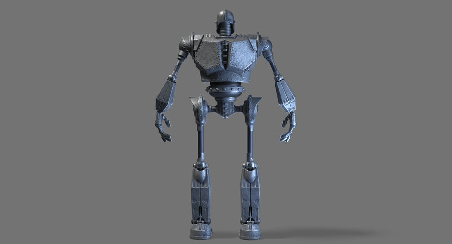 The Iron Giant. royalty-free 3d model - Preview no. 15