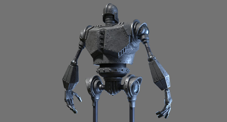 The Iron Giant. royalty-free 3d model - Preview no. 12