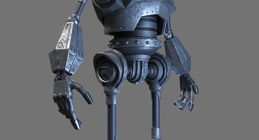 The Iron Giant. royalty-free 3d model - Preview no. 10