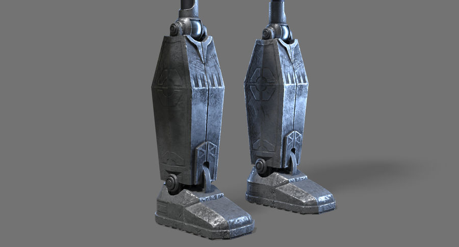 The Iron Giant. royalty-free 3d model - Preview no. 8