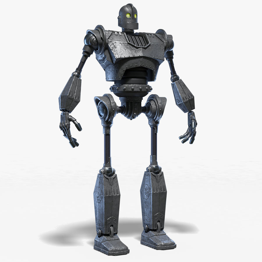The Iron Giant. royalty-free 3d model - Preview no. 1
