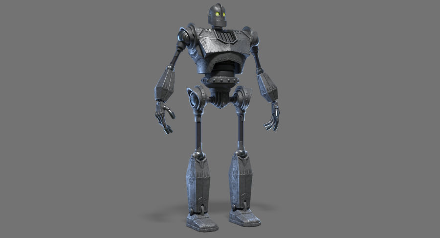 The Iron Giant. royalty-free 3d model - Preview no. 2