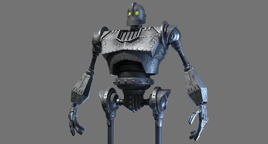 The Iron Giant. royalty-free 3d model - Preview no. 4