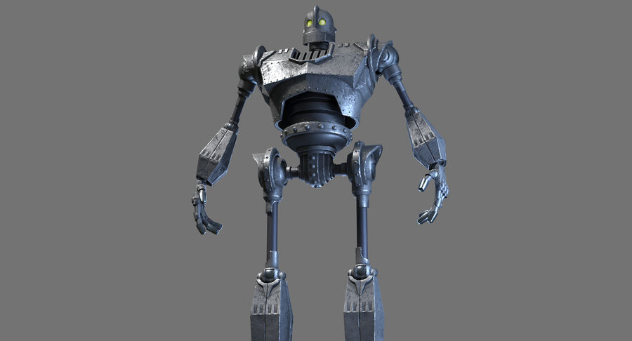 The Iron Giant. royalty-free 3d model - Preview no. 6
