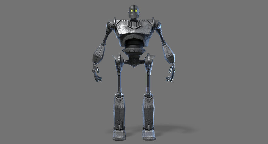 The Iron Giant. royalty-free 3d model - Preview no. 3