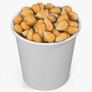 Corn Kernels in Cup 2 3d model