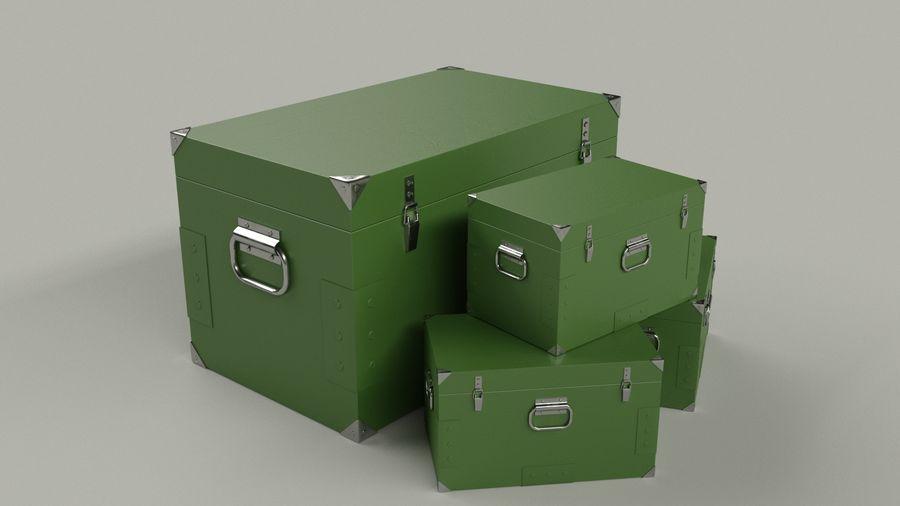 Ordu kutusu royalty-free 3d model - Preview no. 2