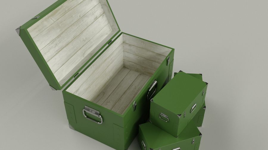 Ordu kutusu royalty-free 3d model - Preview no. 4