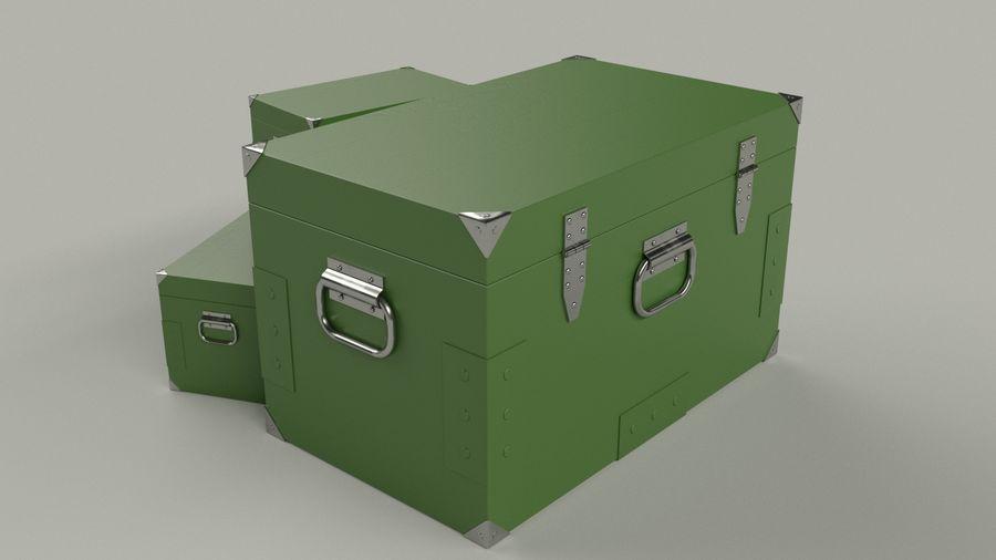 Ordu kutusu royalty-free 3d model - Preview no. 3