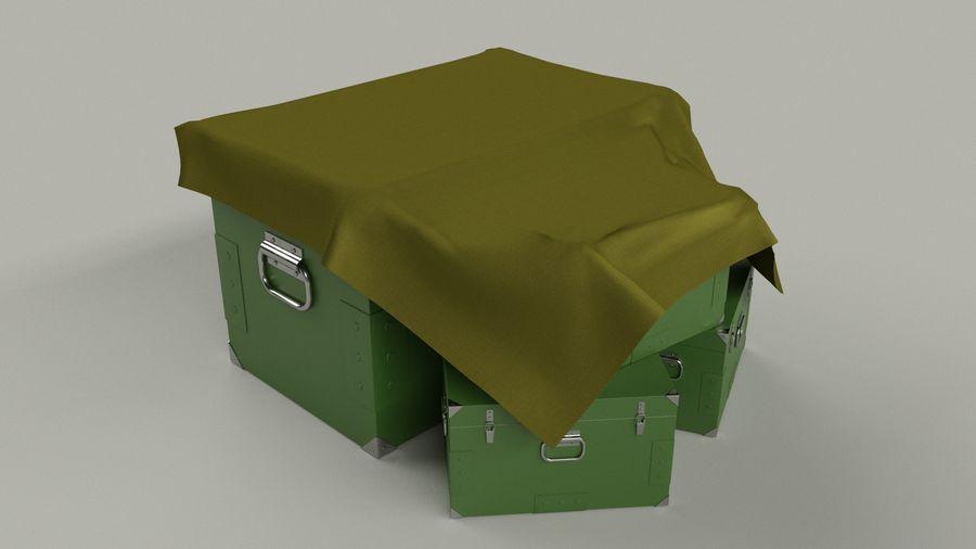 Ordu kutusu royalty-free 3d model - Preview no. 5