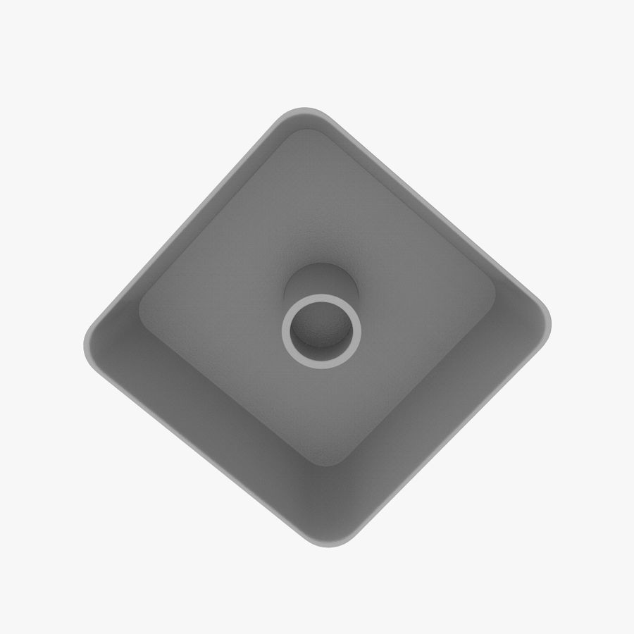 Computer Pad Key royalty-free 3d model - Preview no. 4