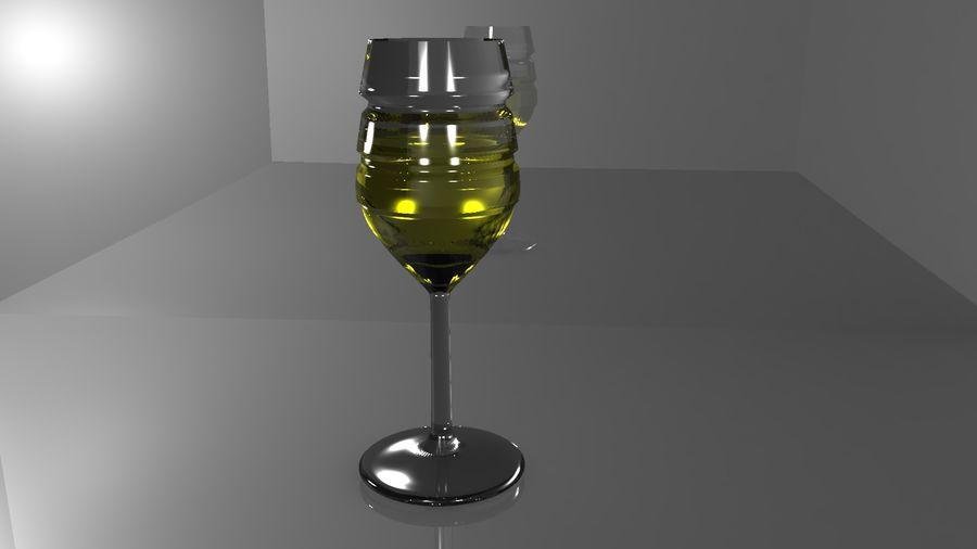 와인 잔 royalty-free 3d model - Preview no. 8