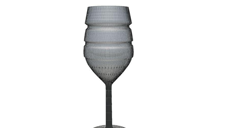 와인 잔 royalty-free 3d model - Preview no. 10