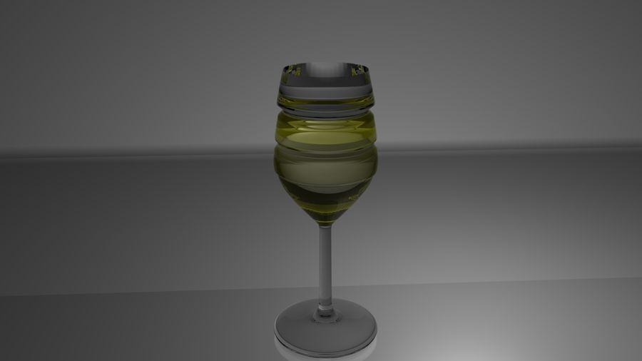 와인 잔 royalty-free 3d model - Preview no. 7