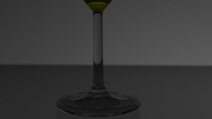 와인 잔 royalty-free 3d model - Preview no. 5