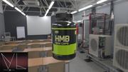 Butelka HMB 3d model