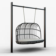 Swing (metal frame) 3d model
