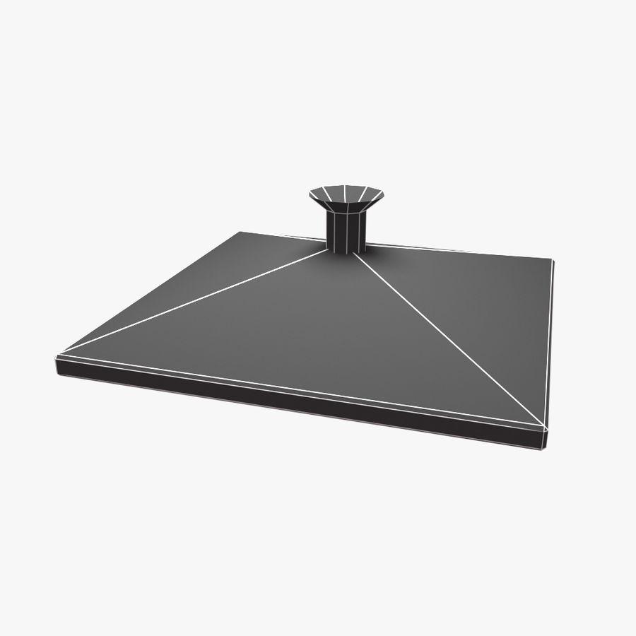 Duschkopf Platz royalty-free 3d model - Preview no. 6