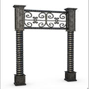 Fantasy Iron Entrance 3d model