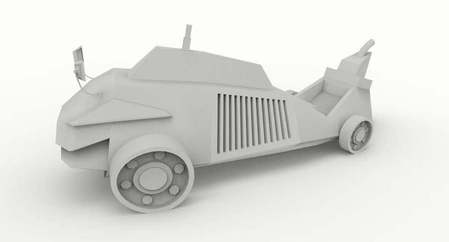 Concept Vehicle royalty-free 3d model - Preview no. 11