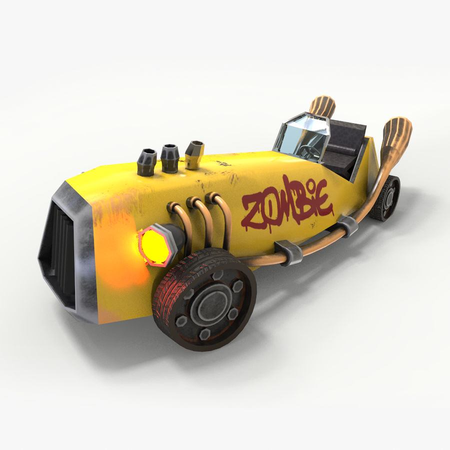 Concept Vehicle royalty-free 3d model - Preview no. 1